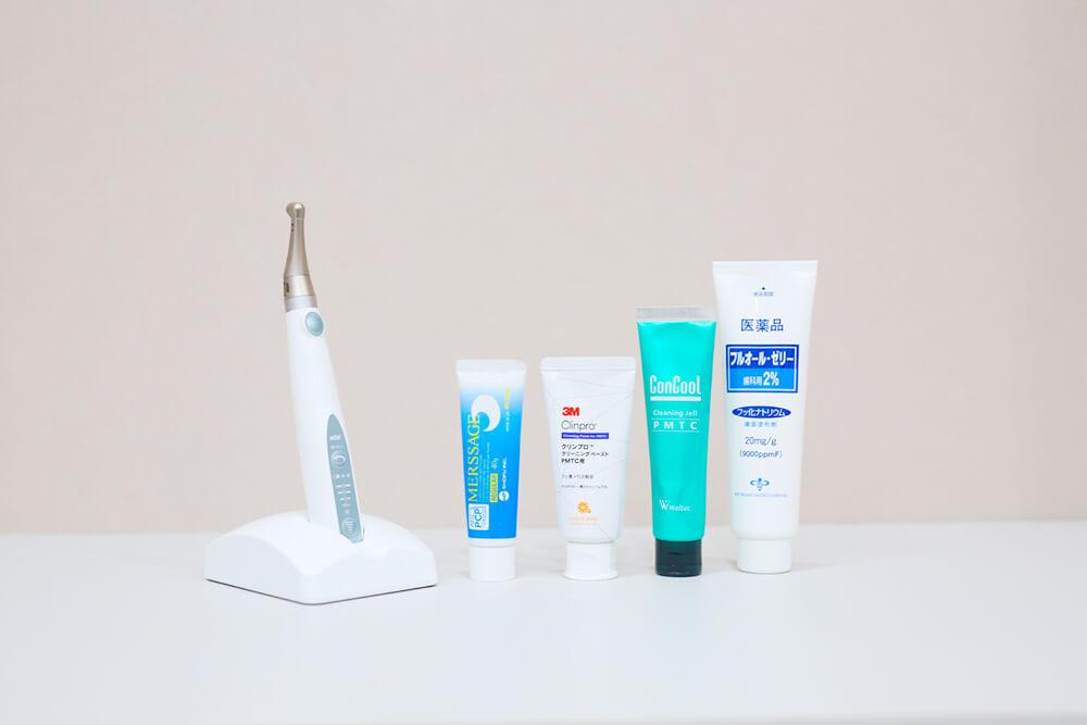 歯面研磨機 / 研磨剤